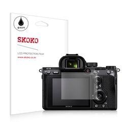 스코코 소니 A7M3 올레포빅 카메라 액정보호필름 2매