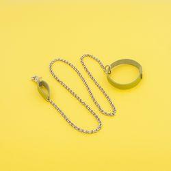Chain Lead Yellow Green