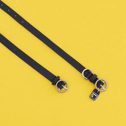 Twist Round Collar Set With You