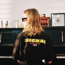 Signal T-Shirts (black) 시그널 티셔츠