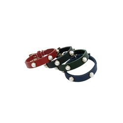 Solid Pearl Collar M Red