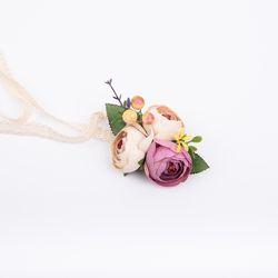 [파티용품] 메이 꽃팔찌 (1ea)