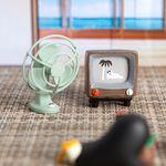 [~6/30까지] 데꼴 TV와 선풍기 피규어