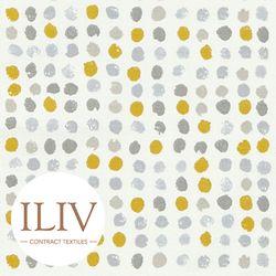 ILIV Dot Dot Fabric Ochre 영국수입원단