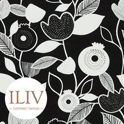 ILIV NORDIC Fabric Noir 영국수입원단