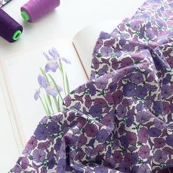 [Fabric] Morning glory Pattern Linen (모닝글로리)