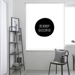 고잉-블랙 롤스크린 R1084 (사이즈선택필수)