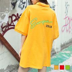 2140 프린트 폴로 티셔츠 (3colors)