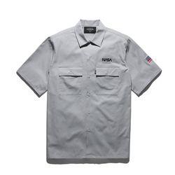 18ss 플루크 우주인 work 셔츠 FLS018C003  2color