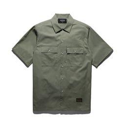 18ss 플루크 스탠다드 work 셔츠 FLS018C001  3color