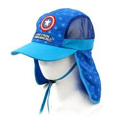 캡틴아메리카 방패 와펜 플랩캡