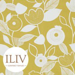 ILIV NORDIC Fabric Ochre 영국수입원단