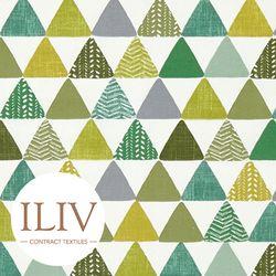 ILIV PYRAMIDS Fabric Kiwi 영국수입원단