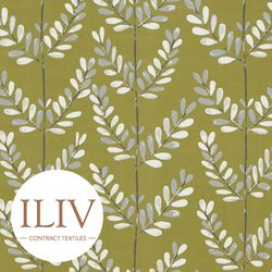 ILIV Scandi Sprig Fabric Kiwi 영국수입원단