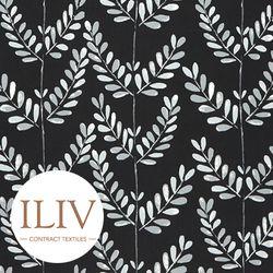 ILIV Scandi Sprig Fabric Noir 영국수입원단