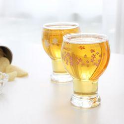 블루밍 블라썸 맥주컵 6P