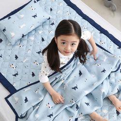 풍기인견 스칸디콜렉션 여름 아기이불 패드세트