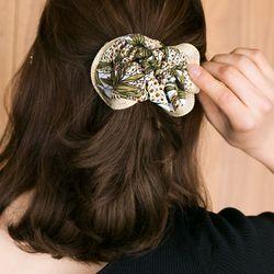썸머 짚 파인애플 곱창 머리끈