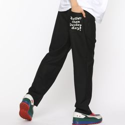 [WHITE.WATER] BTSD LONG PANTS BLACK