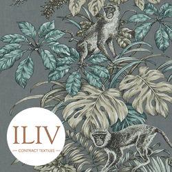ILIV Monkeying Around Fabric Mineral 영국수입원단