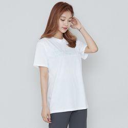 [로코식스] 마인드 레터링 티셔츠