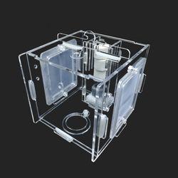 다용도 멀티격리형 부화통 1칸(미세망2개)10x10x10cm