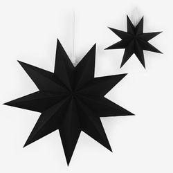 [~7/31까지] 블랙 페이퍼 스타 모빌