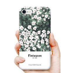 [핀레이슨]플라워 범퍼 케이스.아이폰5S(SE)