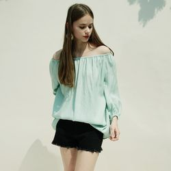 OFFSHOULDER TWO-WAY BLOUSE MT