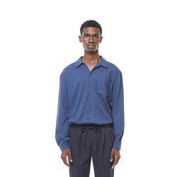 Rack9 open cara shirt (Navy)