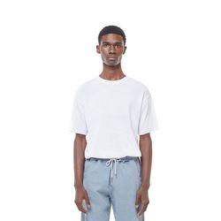 Sandy herr short knit (White)