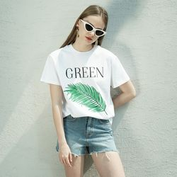LEAF MOTIVE T SHIRT