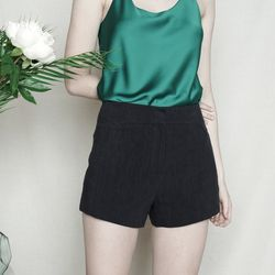 LINEN BASIC SHORT PANTS NY