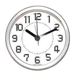 샤인 알루미늄 알람탁상시계