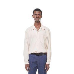 Rack9 open cara shirt (Beige)
