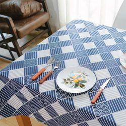 쁘띠뤽스 가띠 린넨 식탁보(사이즈 100x140cm)