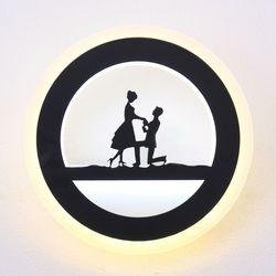boaz 연인 벽등 LED 12w 식당 카페 인테리어 조명
