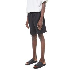 Mona mtr banding half slacks (Black)