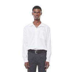 Rack9 open cara shirt (white)