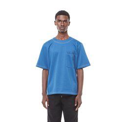 Se arecho stitch half T (Blue)