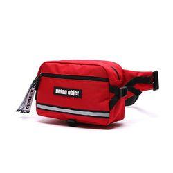 [유니온오브제] UNION TECH WAIST BAG  - RED