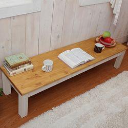 네이쳐원목통다리사이드좌식책상겸테이블1500x400