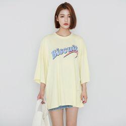 [로코식스] 비스킷 티셔츠