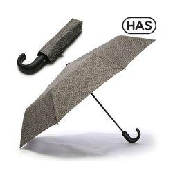 [헤즈]3단 J형 완전 자동 우산 HS3J3860(CIRCLE)
