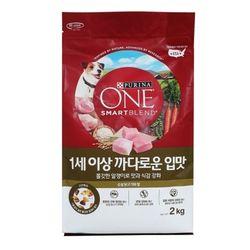 퓨리나 원 1세이상 까다로운 입맛 2kg (닭고기와쌀)