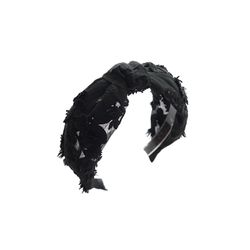[오뜨르뒤몽드]glam lace hairband (black)