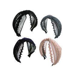 [오뜨르뒤몽드]lady lace hairband (4colors)