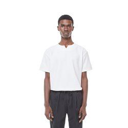 One ballen V neck t-shirt (White)