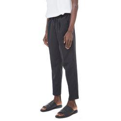 Mona st mtr banding slacks (Black)