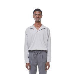Jeste open cara shirt (Grey)